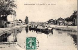 CPA Batellerie - 45 - MONTARGIS - Le Canal Et Les Docks - Péniche - Montargis