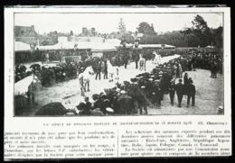 NOGENT LE ROTROU (28)   - Concours Hippique   - Coupure De Presse (encadré Photo) 1926 - Equitation
