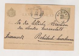 HUNGARY.1906 ROMANIA BOBDA CENEI  Postal Stationery - Lettres & Documents