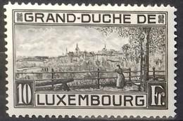 LUXEMBOURG N° 141 COTE 8 € NEUF * MH (infime Trace De Charnière Presque Invisible).VUE DE LUXEMBOURG.  TB - Neufs
