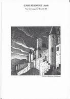 Gravure Des Remparts De Carcassonne  (phil@poste) - Gravures