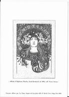 Gravure D' Une Affiche D' A. MUCHA -Sarah Bernhardt (la Poste) - Gravures