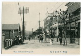 Nagasaki , Oura Settlement - Japon