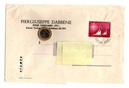 P1024  STORIA POSTALE TARIFFA STAMPE CAMPIONATO VELICO MONDIALE ALASSIO L. 30 ISOLATO - 1971-80: Storia Postale