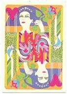 Dame De Coeur - Carte Publicitaire TROPHY RADIOLOGIE à Vincennes (94) - 1975 - Carte Da Gioco