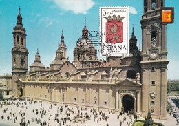 España Nº 1701 En Tarjeta - Maximum Cards