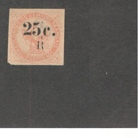 REUNION1885.-6:Yvert4(heavily Hinged And A Thin Spot)  Cat.Value 80Euros($87) - Unused Stamps