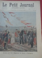 Le Petit Journal N° 308 11 Octobre 1896 Arrivée De L'Empereur De Russie à Cherbourg Et à Paris Arc De Triomphe - Magazines - Before 1900