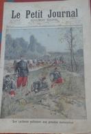 Le Petit Journal N° 305 20 Septembre 1896 Les Cyclistes Militaires Aux Grandes Manœuvres,Uniformes Empereur De Russie - Magazines - Before 1900