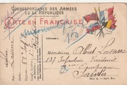 *** PETIT LOT De 4 Cartes Drapeaux .... - Guerra 1914-18