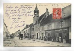60 - Trie-Château ( Oise ) - Ancienne Mairie - Chaussures - Boulangerie - Attelages - Autres Communes