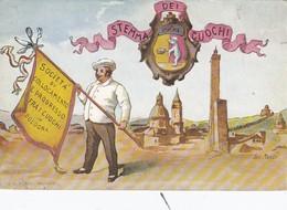 BOLOGNA-STEMMA DEI CUOCHI-CARTOLINA NON VIAGGIATA-ANNO 1900-1904 - Bologna