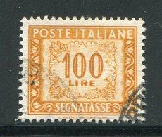 ITALIE- Taxe Y&T N°77- Oblitéré - Segnatasse