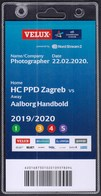 Croatia Zagreb 2020 / Handball / Accreditation / Photographer / HC PPD Zagreb - Aalborg Handbold, Denmark - Handball