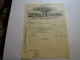 FRANKFURT A/M   -- GERMANIA  --  VERENIGTE KUNSTSEIDEFABRIKEN  A..G. - Deutschland