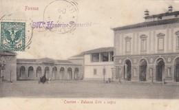 FIRENZE-CASCINE-PALAZZO TIRO A SEGNO-CARTOLINA  VIAGGIATA IL 9-9-1902 - Firenze (Florence)