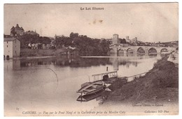 CAHORS - Vue Sur Le Pont Neuf Et La Cathédrale - Cahors