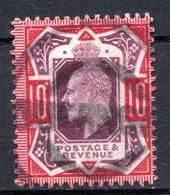 GRANDE BRETAGNE - 1902-10 - N° 116 - 10 D. Rouge Carminé Et Violet-brun - (Edouard VII) - 1902-1951 (Re)
