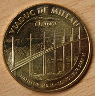 Jeton Touristique (12 - Aveyron) Viaduc De Millau 2010 - Monnaie De Paris