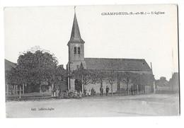 CHAMPDEUIL (77) Place église Animation - France
