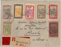 Lettre Accidentée à Juan De Nova - Voyage Madagascar France Par Goulette, Marchesseau Et Bourgeois- 7/12/29 Sup +++ - Madagascar (1889-1960)