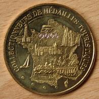 Jeton Touristique (13 - Bouche Du Rhône) Collectionneurs De Médailles Touristiques - Carte De France 2012 - Monnaie De Paris
