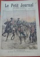 Le Petit Journal N° 270 19 Janvier 1896 Transvaal Le Dr Jameson Prisonnier Des Boers, Un émouvant Sauvetage - Newspapers