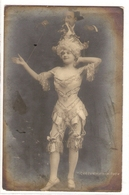 FF 791 OLD  FANTASY POSTCARD ,  FINE ART  , FEMALE FIGURATIVE - Mujeres