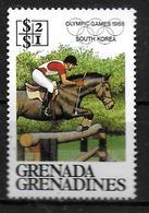 GRENADINES   N° 698   * * ( Cote4e)  Jo 1986 Hippisme - Horses