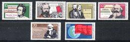 RDA. N°2427-32 De 1983. Karl Marx. - Karl Marx
