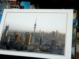 3 CARD KUWAIT VIEW  TOWER CITY   N1990 HO8011  17 X 12 Cm - Koweït
