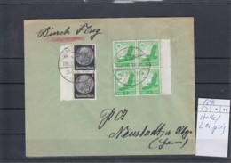 Deutsches Reich Michel Kat.Nr. 529 MiF Flughafen Halle/Leipzig - Lettres & Documents