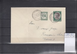 Deutsches Reich Michel Kat.Nr.  541 MiF - Lettres & Documents