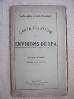 Environs De Spa - Vieux Guide, Plans Et Cartes - Bon état - Culture
