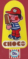Sticker Ice Cream Ijsje Waterijsje Choco Stick Chocolade Autocollant OLA IGLO - Adesivi
