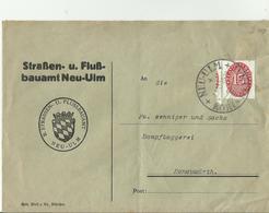 DR GS 1923 NEU ULM - Storia Postale