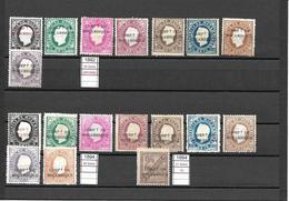 Moçambique Companhia De Moçambique - 1892 D. Luís Serie Completa Afinsa 01/09 - Mozambique