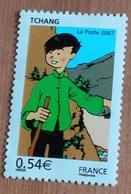 """Les Voyages De Tintin """"Tchang"""" - France - 2007 - Neufs"""
