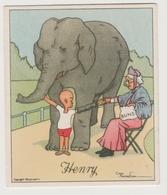 Humour éléphant Jeune Garcon Cake Gateau Buns Brioche Grand Mère Gran Mother Young Boy - Wills