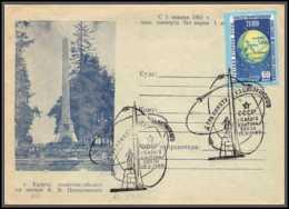1548 Espace (space Raumfahrt) Lettre (cover Briefe) URSS 19/9/1960 Kalouga Mort De Tsiolkovski - Russia & URSS
