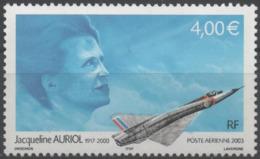FRANCE Poste Aérienne  66 ** MNH Hommage à Jacqueline AURIOL Femme Pilote Sur Mirage III Plane Vendu à La Faciale - 1960-.... Mint/hinged