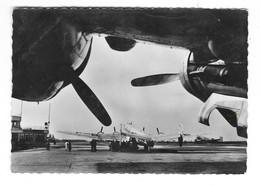 LE BOURGET (93) Cpsm Aéroport Départ D'un Avion Languedoc De La Cie Air France - Aérodromes