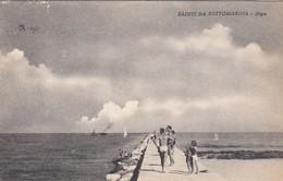 SOTTOMARINA-VENEZIA-DIGA.-CARTOLINA  VIAGGIATA IL 21-3-1952-PRDUZIONE ANNO 1935-1940 - Venezia