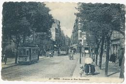 Metz   Avenue Et Rue Serpenoise - Metz
