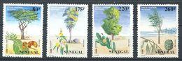 245 SENEGAL 1996 - Yvert 1198/201 - Fleur Arbre - Neuf ** (MNH) Sans Charniere - Sénégal (1960-...)