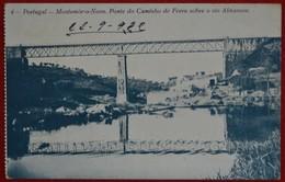 Postcard Of The   Montemor O Novo  /   Ponte Do Caminho De Ferro Sobre O Rio Almansor ( Lote N º 1075 ) - Evora
