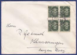 Brief Mehrfachfrankatur MiNr. 231 (aa0225) - Briefe U. Dokumente