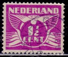 Netherlands, 1926-39, Gull, 1 1/2c, Sc#166, Used - Gebraucht