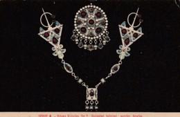 Bijoux Kabyles #2, Kabyles Jewelry Art Nouveau Theme, C1900s/10s Vintage Postcard - Mode