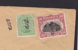 GRIFFE DE FORTUNE WILRYCK / Lettre En Recommande Vers Bruxelles  Lsc - 1915-1920 Albert I